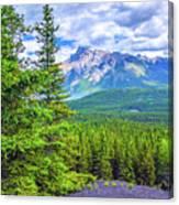 Cascade Mountain Canvas Print
