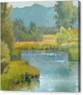 Cascade Pond Canvas Print