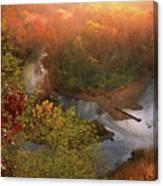 Cascade Valley Sunrise Canvas Print
