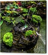 Cascades Fountains Canvas Print
