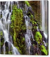 Cascades Of Burney Falls Canvas Print