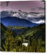 Cascades View Canvas Print