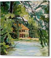 Cascadilla Boathouse Ithaca New York Canvas Print