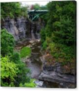 Cascadilla Gorge Cornell University Ithaca New York 01 Canvas Print