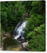 Cascadilla Waterfalls Cornell University Ithaca New York 02 Canvas Print
