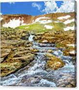 Cascading Source Stream Canvas Print