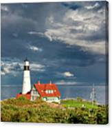 Casco Bay Lookout Canvas Print