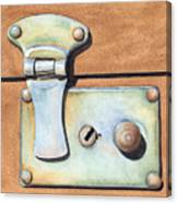 Case Latch Canvas Print