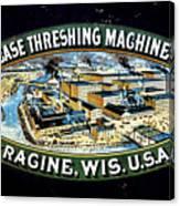 Case Threshing Machine Co Canvas Print