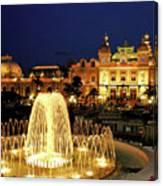 Casino De Monte Carlo-circa 2005 Canvas Print