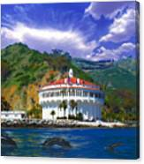 Casino From The Water Canvas Print