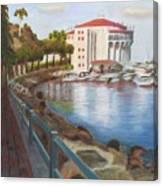 Casino In Avalon Canvas Print