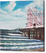Casino Pier N.j. Canvas Print