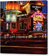 Casino Royale Canvas Print