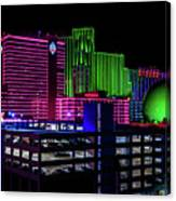 Casinos Canvas Print