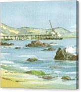 Casitas Pier II Canvas Print