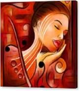 Casselopia - Violin Dream Canvas Print