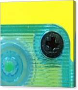 Cassette Tape Closeup Canvas Print