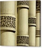 Cast Iron Columns Canvas Print
