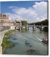 Castel Sant' Angelo Canvas Print