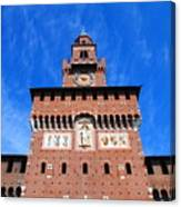 Castello Sforzesco Tower Canvas Print