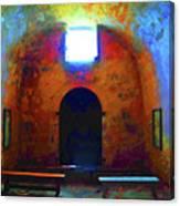 Castillo De San Marcos Chapel Canvas Print