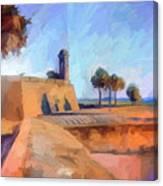 Castillo Rampart Canvas Print