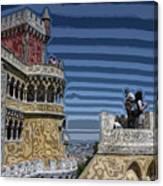 Castle 0f Lurid Dreams Canvas Print