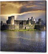 Castle At Dawn Canvas Print