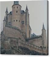 Castle At Segovia Canvas Print