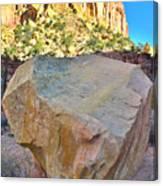 Castle Boulder Canvas Print