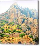 We Were Walking The Whole Way Up To The Old Castle  Canvas Print