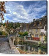 Castle Combe England Canvas Print