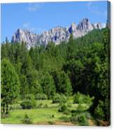 Castle Crags Canvas Print