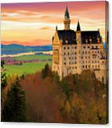 Castle Dawn Canvas Print