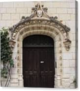 Castle Entrance Door Canvas Print