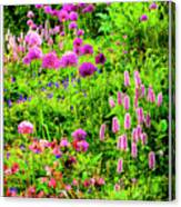 Castle Gardens Canvas Print