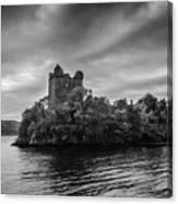 Castle Grey Canvas Print