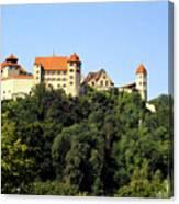 Castle Harburg 3 Canvas Print
