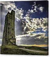 Victoria Tower Castle Hill Huddersfield 1 Canvas Print