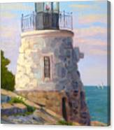 Castle Hill Light Newport Ri Canvas Print