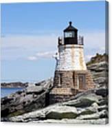 Castle Hill Lighthouse Newport Rhode Island 1 Canvas Print
