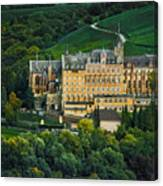 Castle In Ahrweiler Canvas Print