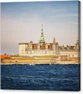 Castle In Helsingor Denmark Canvas Print