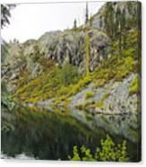 Castle Lake  Canvas Print