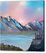 Castle Landscape Canvas Print