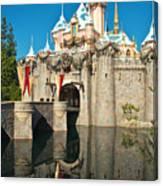 Castle Reflection Canvas Print