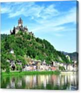 Castle Reichsburg Canvas Print
