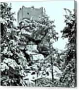 Castle Ruin Flossenbuerg Canvas Print
