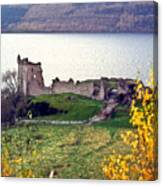 Castle Ruins Scotland Canvas Print